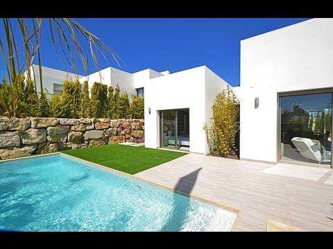 Espagne maison neuve avec piscine 335000 youtube - Maison a louer barcelone avec piscine ...