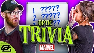 TEST YOUR MARVEL MOVIE KNOWLEDGE WITH OPTIC | OpTic Trivia