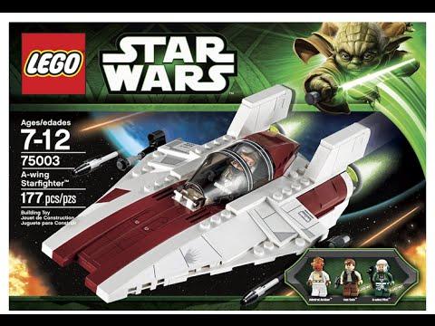vsk toys lego star wars a wing starfighter lego 75003 youtube. Black Bedroom Furniture Sets. Home Design Ideas