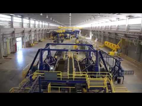 Aerials from inside a $533,000,000.00 Facility!