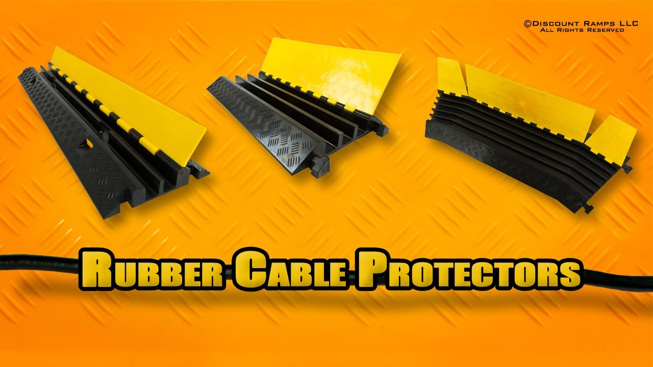 Cable Protectors - YouTube
