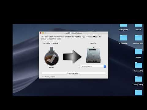 Create Mojave Installation Flash Drive Using Mojave Patcher