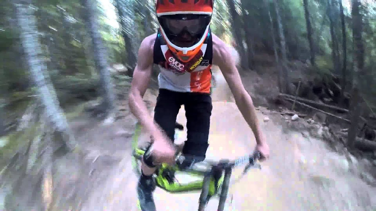 Whistler Downhill GoPro Hero 3+ Face Cam - Stephen Brulle