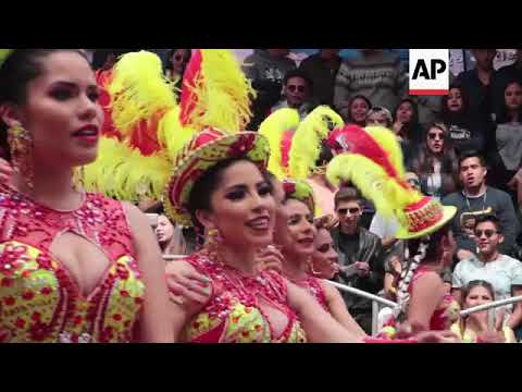 Thousands celebrate Bolivia's Oruro carnival