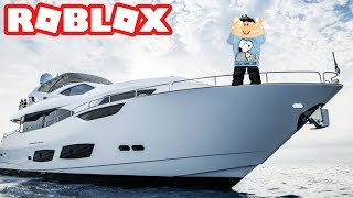 THE 18,000,000 DOLLAR YACHT IN ROBLOX VEHICLE SIMULATOR (NEW UPDATE)