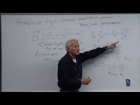 04 - Examples for Feshbach type resonances default