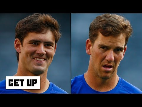 Daniel Jones is ready to replace Eli Manning as the Giants' starting QB - Ryan Clark   Get Up