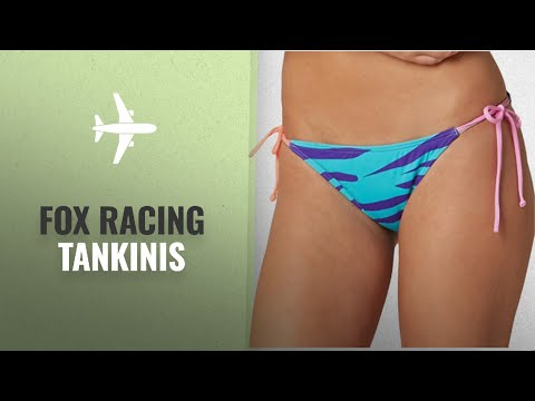 10 Mejores Ventas Tankinis De Fox Racing: Fox Racing Girls Image Side Tie Bottom