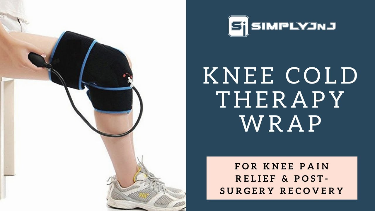 611105eb50 Cold Therapy Knee Wrap With Compression by SimplyJnJ - YouTube