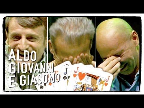 Anplagghed - Le papere di Poker| Aldo Giovanni e Giacomo