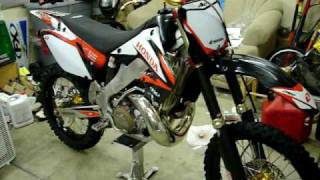06 cr250 sunline v-1 mdx levers update cr 250 CR250 CR 250
