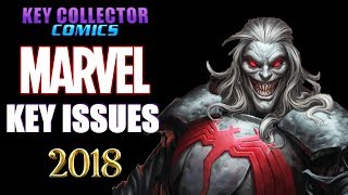 Key Issue Comic Books Published By Marvel In 2018. Part 1