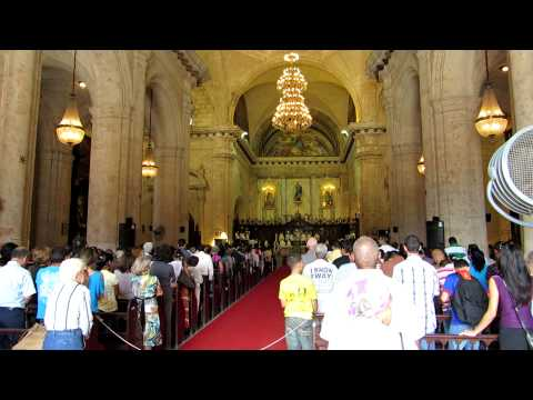 Church Hymns in Havana Cuba