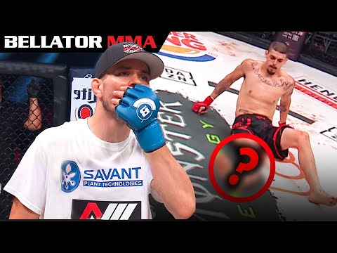 Top Crazy Fight Ending Moments  | Bellator MMA