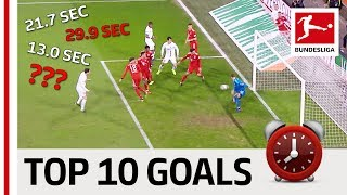 Top 10 Fastest Goals 2018/19