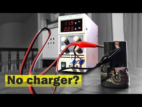 🔋 How to charge a battery without the charger