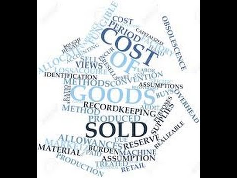 Cost of Goods Sold (COGS) or Cost of Sales