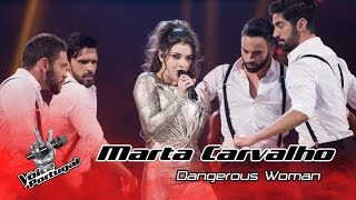 Marta Carvalho - Dangerous Woman (Ariana Grande) | Gala Final | The Voice Portugal
