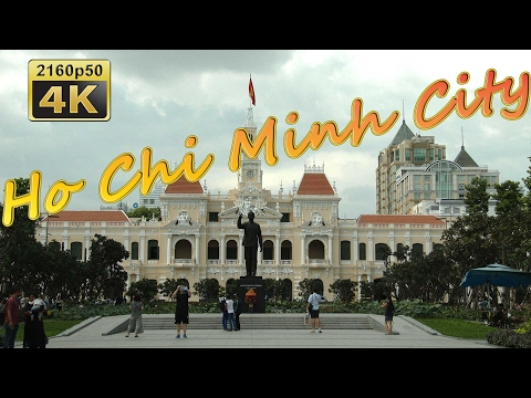 Ho Chi Minh City (Saigon), City Walk - Vietnam 4K Travel Channel