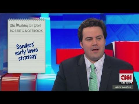 Sander's early Iowa strategy