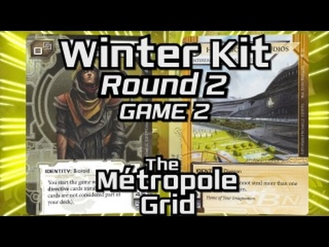 Netrunner Winter Kit 2016: Round 2 - Game 2