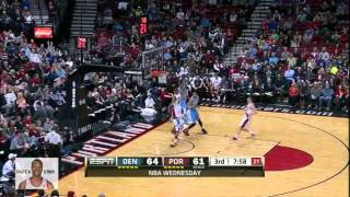 Andre Iguodala 29 points,7 reb,8 ast,5 stl vs Portland TrailBlazers - Highlights 2/27/2013