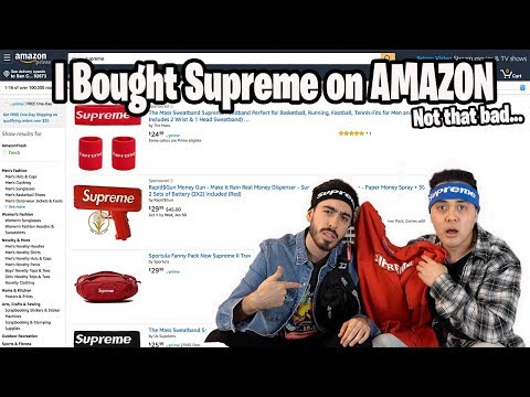 Buying Supreme on Amazon, NOT AS BAD AS I EXPECTED!