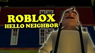Hello Fear Act 2 | Roblox Hello Neighbor