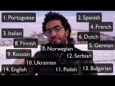 Polyglot Speaking 14 Languages - How I Maintain my 14 Languages