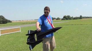 Sr-71 Foam Depron Plane Maiden Flights Scratch Build - Rc Madness Kansas Hd 720p