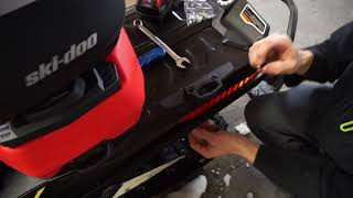 How To Install Ski-Doo BRP LinQ storage and locking system Subscrib...