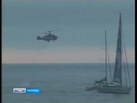 """БПК """"Вице-адмирал Кулаков"""" провел досмотр яхты известного путешественника Майкла Хорна"""
