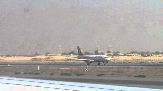 airarabia A320 taxing at sharjah international airport