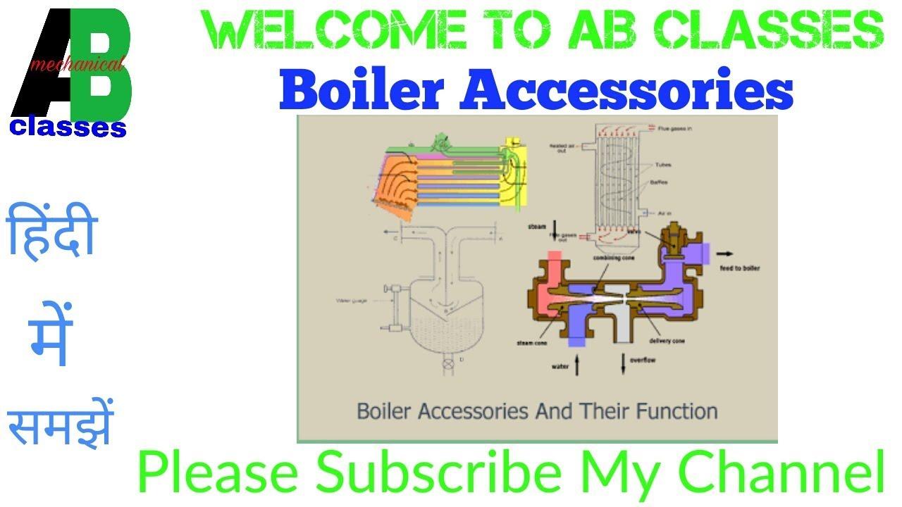 IN HINDI) Boiler Accessories in Hindi-AB CLASSESn Thermodynamics ...