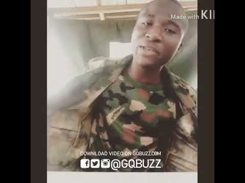 Nigerian Soldier Boy, Emmy Benison Blew PHYNO's Mind Off With His Jaw-Dropping Rapping Talent