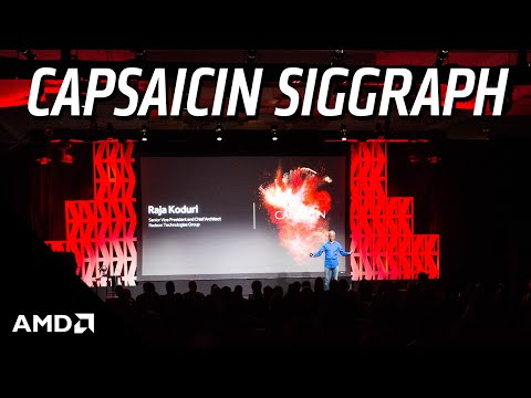Watch the full Capsaicin SIGGRAPH livestream