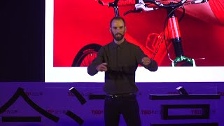 Why do I ride bicycles while all others are driving? | Jacob Klink | TEDxHejiangting