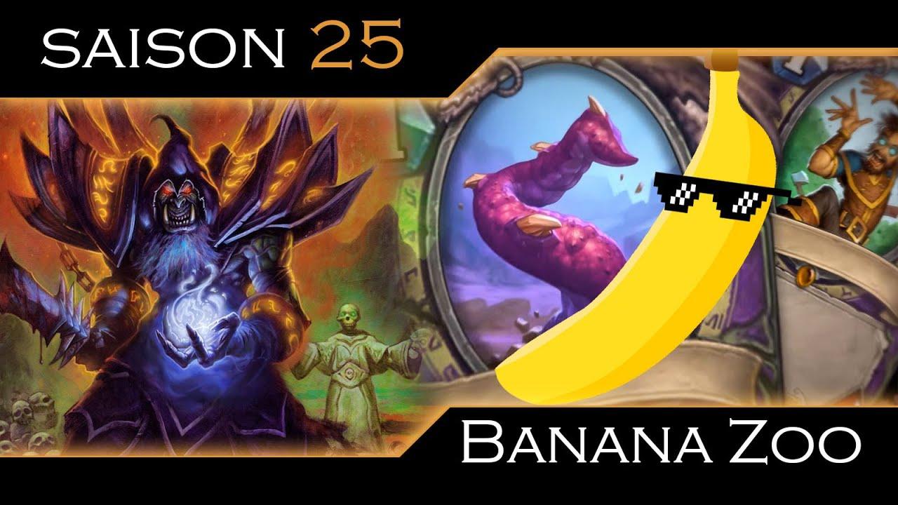 Whispers Of The Banana Zoo Old Gods Hearthstone Youtube