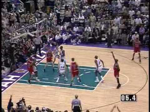 Michael Jordan's  Final Shot 98