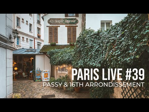 Paris Live #39: Passy & the 16th Arrondissement