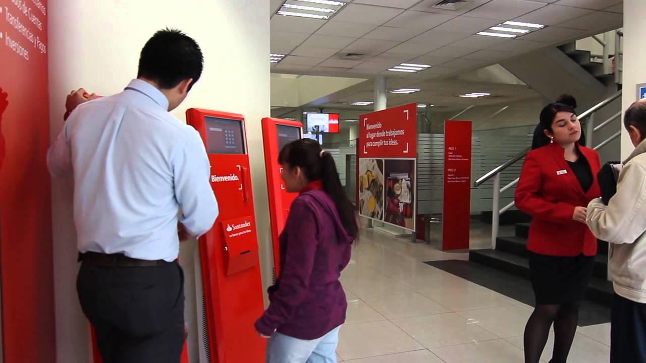 Locucion off nuevo sistema de sucursal banco for Sucursales santander cordoba