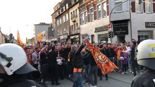 Galatasarayin 21. Sampiyonluk Kutlamasi Duisburg/almanya Part 1