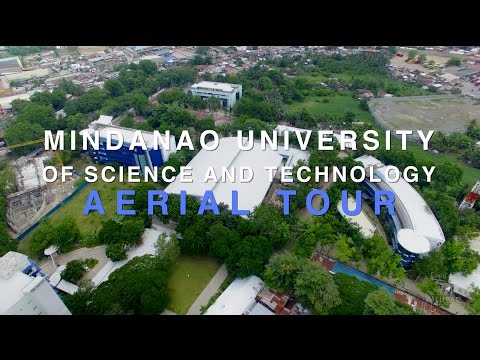 Mindanao University of Science and Technology Aerial Tour 4K