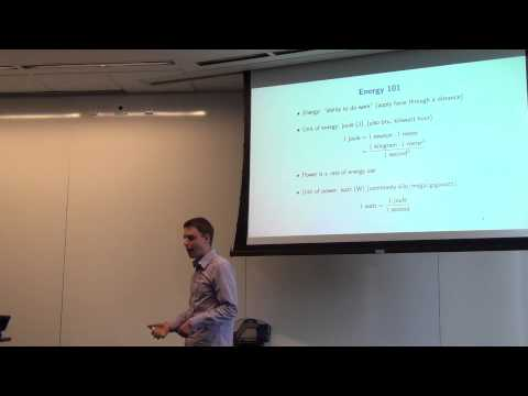 Lecture 2: Energy and Linear Regression