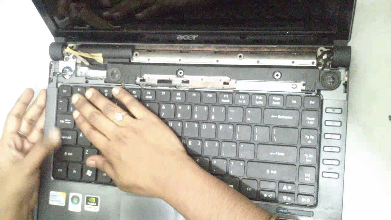 Acer Aspire 4736g Dissembling Youtube Keyboard Laptop 4736 4738 4740