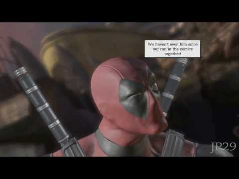 Deadpool Bored of Cable's Warning