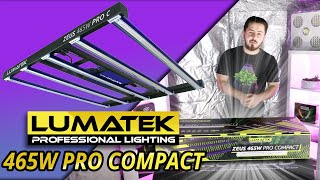 Unboxing of the ZEUS 465W Compact Pro Horticultural LED lamp from Lumatek