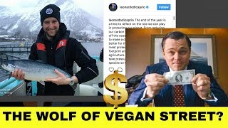 LEONARDO DICAPRIO Promotes Fish | Chef SPIKES Vegan Food + more MUKBANG RESPONSE