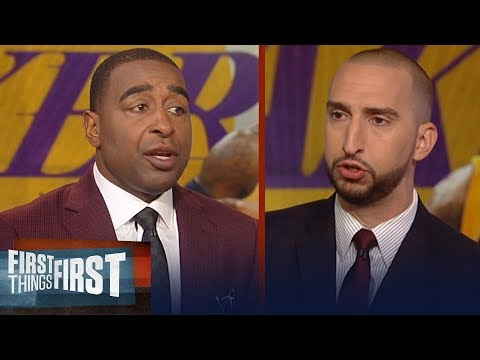 Nick and Cris react to Magic saying hes not scared of Golden State | NBA | FIRST THINGS FIRST