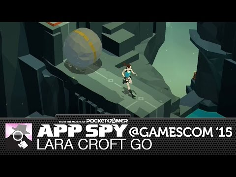 TURN-BASED BOULDER ESCAPE | Lara Croft Go preview